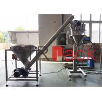 China Electric Semi automatic auger powder filling machine for bags , bottles , cans on sale
