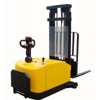 Wholesale Counter weight type electric pallet stackers AC power with pedal from china suppliers