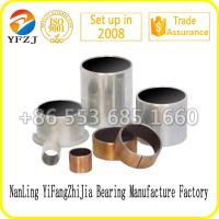 Wholesale Zinc plating sleeve bush ,Du bearing lead free for auto parts from china suppliers