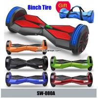 Wholesale 8inch Smart Balance Wheel 2 Wheel Electric Standing Scooter Bluetooth Music LED Speaker from china suppliers