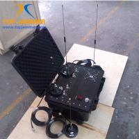 Wholesale Four Bands 60W Luggage Portable Car RF Jammer Blocker Shield UHF GSM DCS 3G Mobile Signal from china suppliers