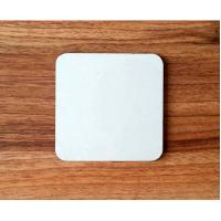 Wholesale Wholesale 10*10cm  Square Blank MDF coaster with white top for DIY printing artwork from china suppliers