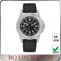 Wholesale Italy Genuine Leather Full Titanium Automatic Watches For Mens Time Display from china suppliers