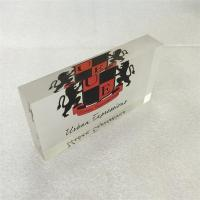 Wholesale factory customized acrylic printing block with printing Logo from china suppliers