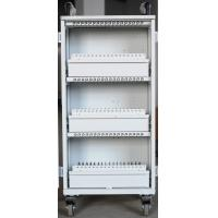 Wholesale Easy Unload White Beautiful Apple Ipad Cart 54 Units Durable For Bank / Office from china suppliers