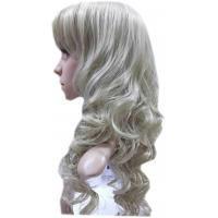 Wholesale Mixed Color Bang Long Human Hair Full Lace Wigs / Body Wave Synthetic Wigs from china suppliers