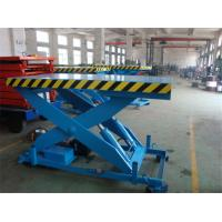 Wholesale High Strength Manganese Steel Fixed Scissor Lift With 160 - 500KG Rotated Load from china suppliers