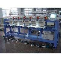 Wholesale Low Noise Six Heads Cap Embroidery Machine , Embroidery Hat Machine / Equipment Sunwing Ct1506 from china suppliers