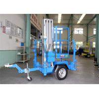 Wholesale Single Mast Truck Mounted Aerial Lift Hydraulic Aluminium Alloy Aerial Work Platform from china suppliers