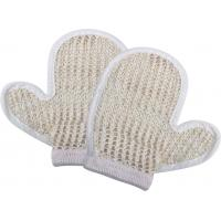 Wholesale Natural Customized Dead Skin Exfoliating Shower Mitt Sisal Body Scrubber Glove from china suppliers