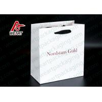 Wholesale Single LOGO Custom Printed Paper Bags For Shopping Mall / Supermarket from china suppliers