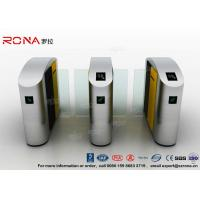 Wholesale Turnstile Barrier Gate Waist Height RFID Turnstile Security Systems Automatic Flap Barrier Turn Style Door from china suppliers