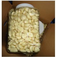 Wholesale Fresh peeled garlic, convenient and quick, the price is excellent, produced in China. from china suppliers