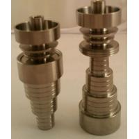 Wholesale Universal Titanium Domeless Nail 10/14/18mm/M/F & Carb Cap FAST SHIP from china suppliers