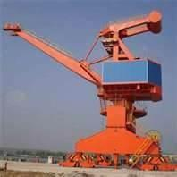 Wholesale 92KW 40T 24.3m full-revolving-jib Electric Wheel free standing portal Cranes from china suppliers