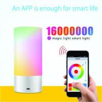 Wholesale USB Chargeable  bluetooth control portable smart led light from china suppliers
