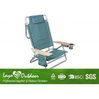 Wholesale Rocking Chaise Lounge Outdoor Patio Chairs With Polyester Fabric Powder Coated Treatment from china suppliers