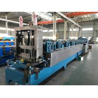 Wholesale 16 - 18 Stations CZ Purlin Roll Forming Machine With Hydraulic Cutting / Punching from china suppliers