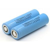Quality Light Weight 3.7V 18650 Rechargeable Battery  / Li Cylinder Battery For Web Phone for sale
