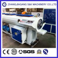 Buy cheap Automatical Diameter Pipe Extrusion Machine high efficiency from wholesalers