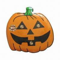 Wholesale Pumpkin Metal Badge, Various Designs/Materials/Sizes Available, Customized Logos Welcomed from china suppliers