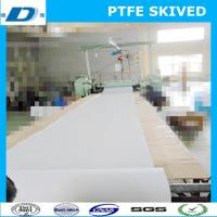 Buy cheap PTFE skived sheet in roll thickness 12mm from wholesalers