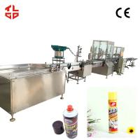 Wholesale Dashboard Wax Dashboard Cleaner Aerosol Spray Filling Equipment CE Approval from china suppliers