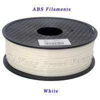 Wholesale Office & School Electronics Parts ABS 3D Printer Filament 1.75mm White from china suppliers