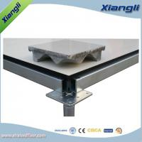 Buy cheap 610mm Cement infill  Steel Raised Floor for Monitor Control Center from wholesalers