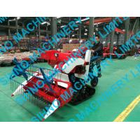 4L-0.7 mini wheat rice combine harvester with crawler