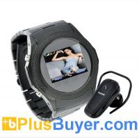 Wholesale Assassin Dusk - Touchscreen Unlocked Watch Mobile Phone with MP4 - Black from china suppliers