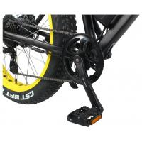 36 V 350w Powerful Electric Bike , Electric Snow Bicycle Smart Controller