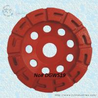 Wholesale U-shape Segment Diamond Cup Grinding Wheel - DGWS19 from china suppliers
