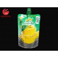 Wholesale 200ml Stand Up Pouch With Spout / Aluminum Foil Pouch for Juice from china suppliers