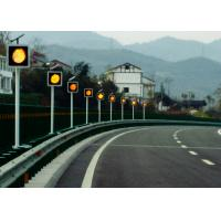 Wholesale Sychronized Solar Blinker Light LED Traffic Signs 12 Hours Flashing from china suppliers