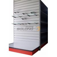 Wholesale Slatwall Shelf Slot Supermarket Display Stands , Supermarket Display Shelving from china suppliers