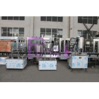 Wholesale SUS304 / SUS316 Water Bottle Filling Machine , Small Scale Pure Liquid Filling Line from china suppliers