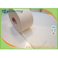 Wholesale 5cm White colour Latex free zinc oxide athletic rigid strapping tape viscose sports tape to limit joint movement from china suppliers
