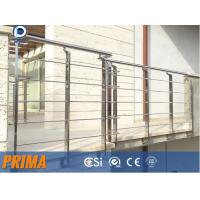 Quality low price modern indoor galvanized steel pipe balcony railings for sale