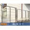 Buy cheap 304&316 stainless steel handrail stair railings / balcony railings from wholesalers