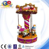 Wholesale Carousel Horse carousel for sale kiddie rides purple from china suppliers