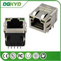 Wholesale DGKYD211Q066FA1A5 1000M industrial rj45 connector with led , 1 Port from china suppliers