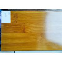 Wholesale Durable Gloss Shiny Laminate Wooden Floor Bamboo Wood Floating Arc Click from china suppliers