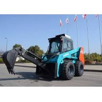 Wholesale Full Hydraulic System Big Skid Steer Loader 75HP Power 950kg Load Capacity from china suppliers