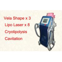 Wholesale Vertical Lipo Cryolipolysis Freeze Fat Machine / Cellulite Removal Equipment from china suppliers