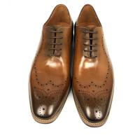 Wholesale Burnished leather lace up mens dress formal shoes , oxford leather shoes from china suppliers