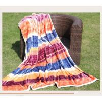 Wholesale Soft Weave Polyester Throw Blanket Posh Pelts MTW3507A With Woven Technics from china suppliers