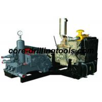 Wholesale Triplex Piston Drilling Mud Pump / Electric Mud Pump 110Mm Stroke from china suppliers