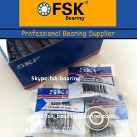 Quality SKF Electric Bicycle Motor Bearings 6200 2RS Size 10*30*9mm for sale