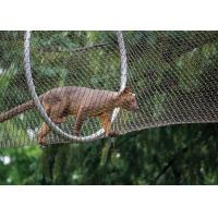 Buy cheap High-strength Stainless Steel Wire Rope Mesh Fence for Animal Cages from wholesalers